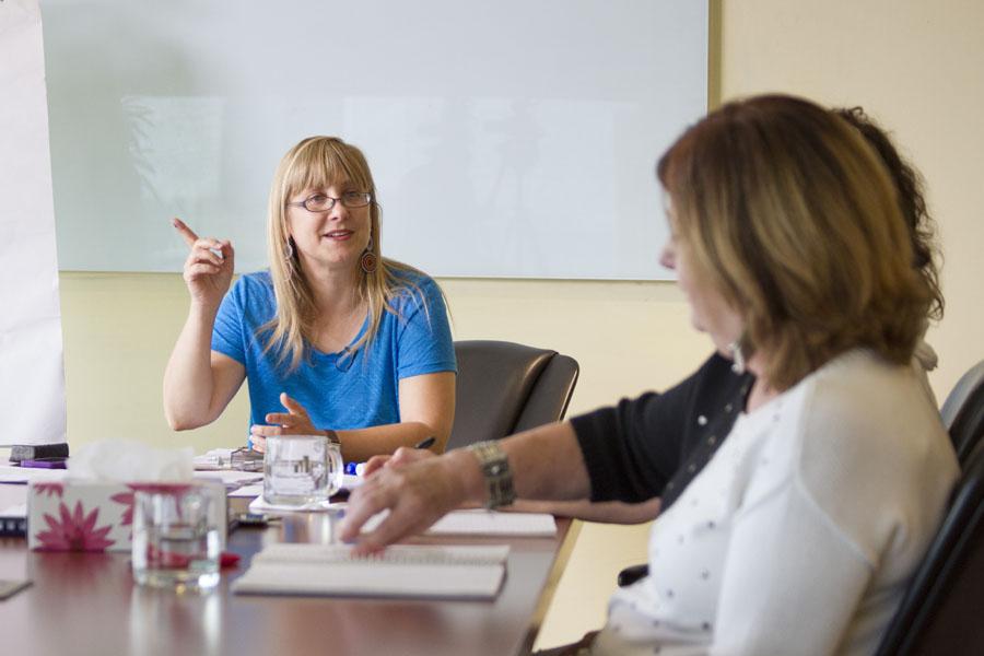 Classroom with Karen Day